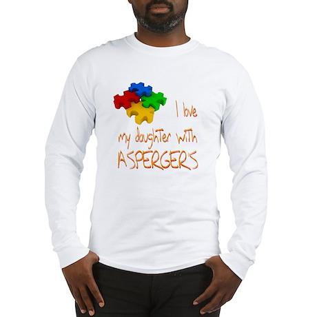 Asperger's daughter Long Sleeve T-Shirt