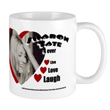 Sharon Tate Live Love Laugh Mug