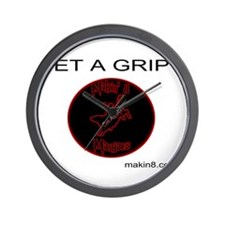 GET A GRIP Wall Clock