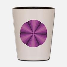 Purple Illusion Shot Glass