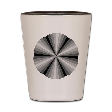 Black Illusion Shot Glass