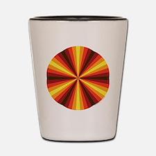 Fall Illusion Shot Glass