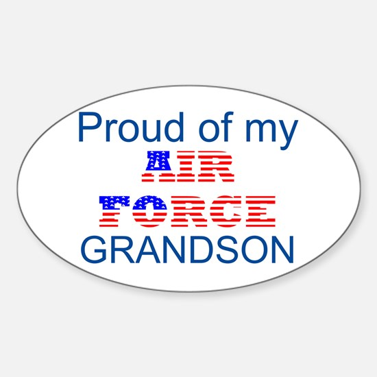 GrandSon Oval Decal