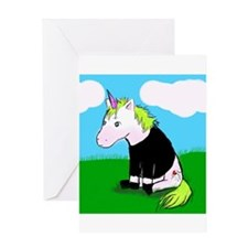 Dani The Unicorn (Cover Art) Greeting Card