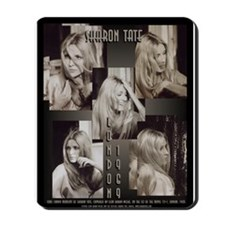 Sharon Tate London 69 Collage Mousepad