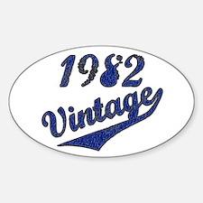 Unique 1982 Decal
