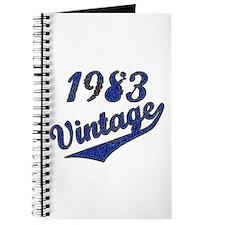 Unique Funny vintage 1983 Journal
