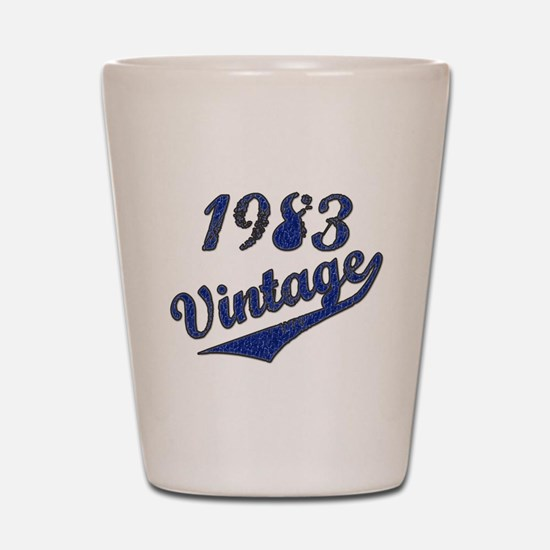 Unique Funny vintage 1983 Shot Glass
