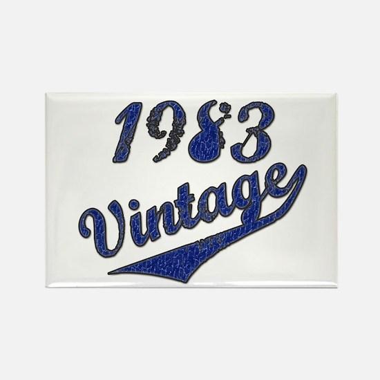 Unique Funny vintage 1983 Rectangle Magnet