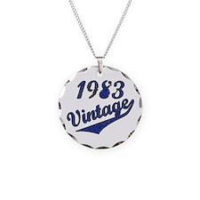 Cute Funny vintage 1983 Necklace