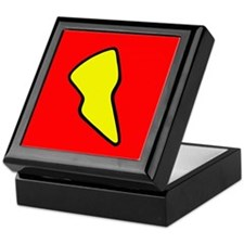 'Lightning Bolt' Keepsake Box