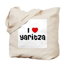 I * Yaritza Tote Bag