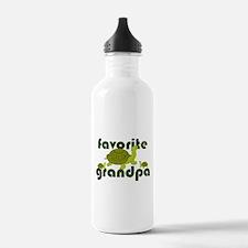 Favorite Grandpa Water Bottle