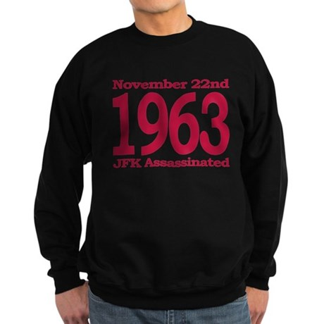 1963 - JFK Assassination Sweatshirt (dark)