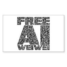 Free Ai Weiwei Decal