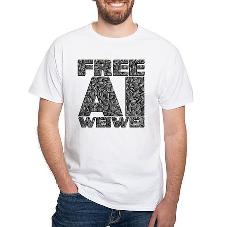 Free Ai Weiwei White T-Shirt