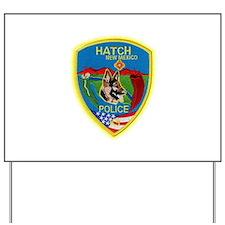 Hatch Police Canine Yard Sign