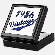 Unique 1986 Keepsake Box