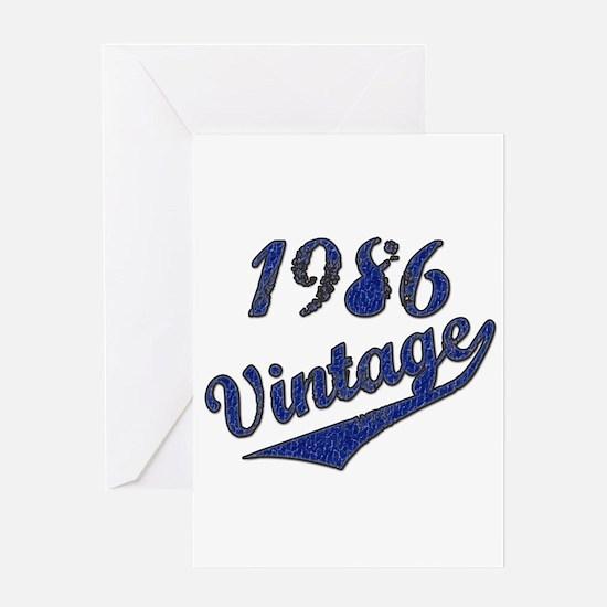 Unique 1986 Greeting Card