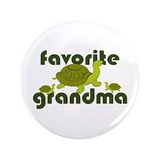 """Favorite Grandma 3.5"""" Button"""
