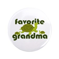 "Favorite Grandma 3.5"" Button (100 pack)"