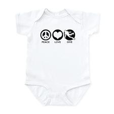 Peace Love Dive Infant Bodysuit