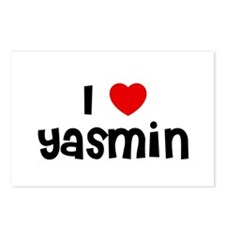 I * Yasmin Postcards (Package of 8)