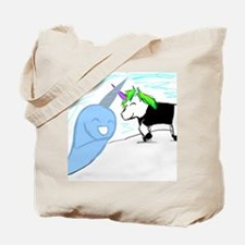 Dani the Unicorn and Neil the Narwhal Tote Bag