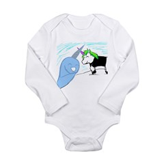 Dani the Unicorn and Neil the Narwhal Long Sleeve