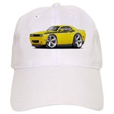 Challenger RT Yellow-Black Car Baseball Cap