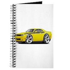 Challenger RT Yellow-Black Car Journal