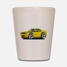 Challenger RT Yellow-Black Car Shot Glass