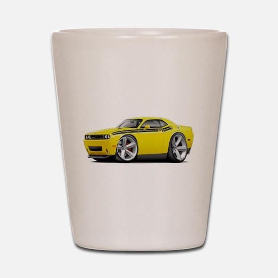Challenger RT Yellow-Black Car Shot Glass