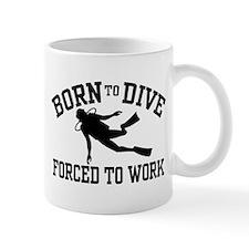 Funny Scuba Diver Mug