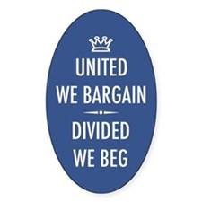 Bargain or Beg Decal
