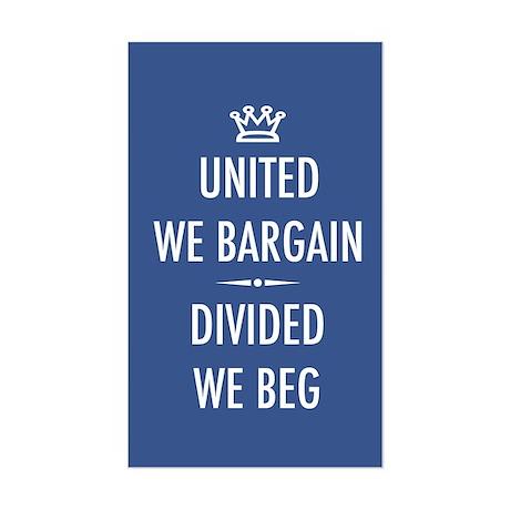 Bargain or Beg Sticker (Rectangle)