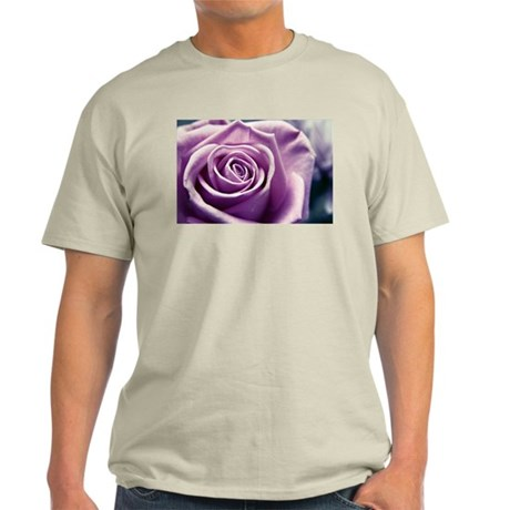 Lilac Pastel Rose flower Light T-Shirt