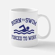 Funny Swimmer Mug