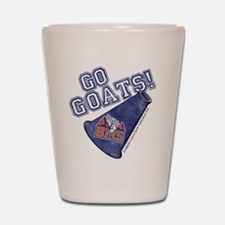 Go Goats Blue Mountain State Shot Glass