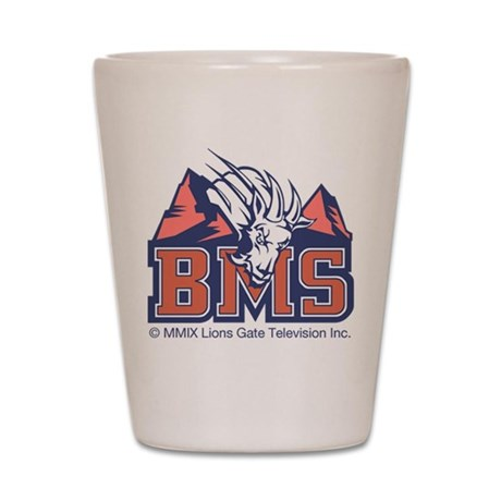 Blue Mountain State Shot Glass