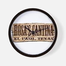 Rosa's Cantina Wall Clock