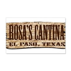 Rosa's Cantina 22x14 Wall Peel