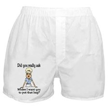 Since You Asked... Boxer Shorts