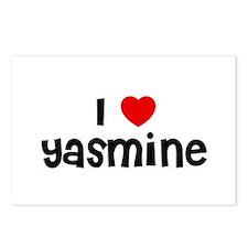 I * Yasmine Postcards (Package of 8)