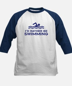 I'd Rather be Swimming Tee