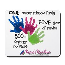 500+ Orphans No More Mousepad