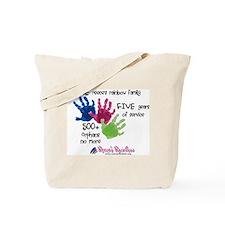 500+ Orphans No More Tote Bag