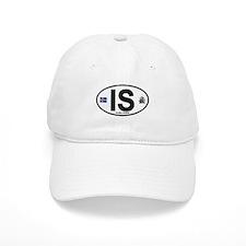 Iceland Euro Oval Baseball Cap