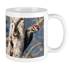 Male Pileated Woodpecker Small Mug