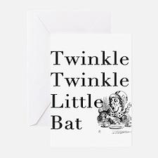 Alice in Wonderland- Twinkle Greeting Cards (Pk of